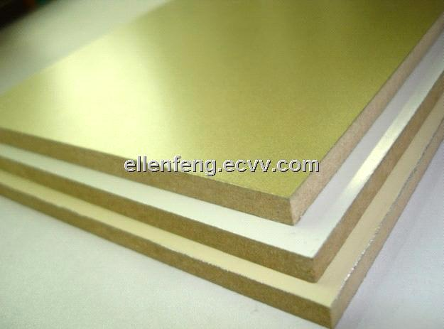 Bv aluminum foil faced mdf for kitchen furniture cabinet