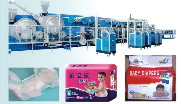 diapers machine