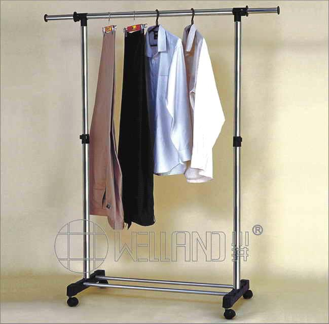 Storage Rack > Cheap Extendable Metal Clothes Hanging Store Rack