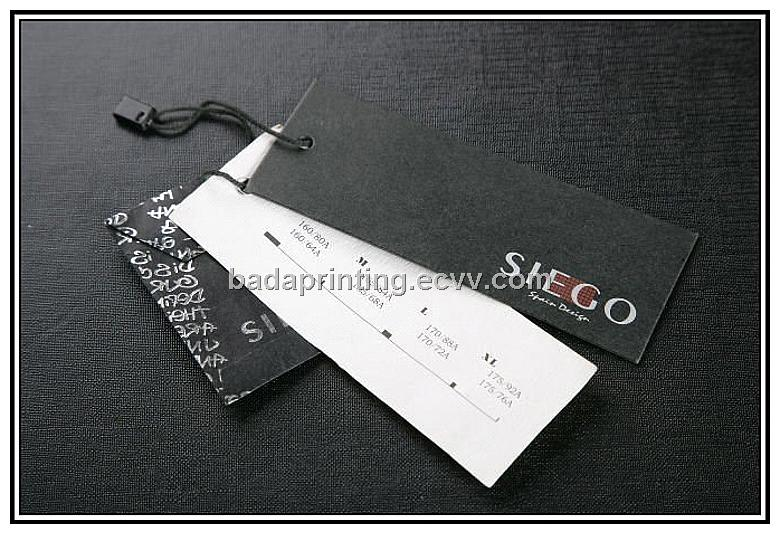 USA. Provides custom printed logo labels, size and care tabs, and hang