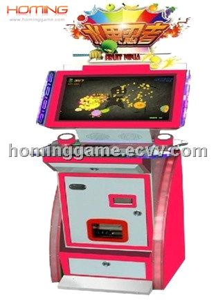 FRUIT NINJA SLICE AN APPLE arcade game(hominggame-COM-917)