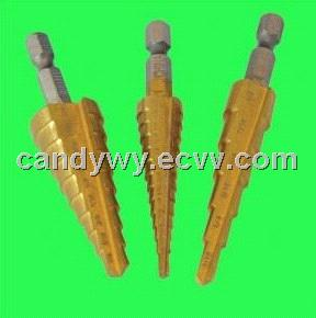 HSS Step Drill Tin-Coated