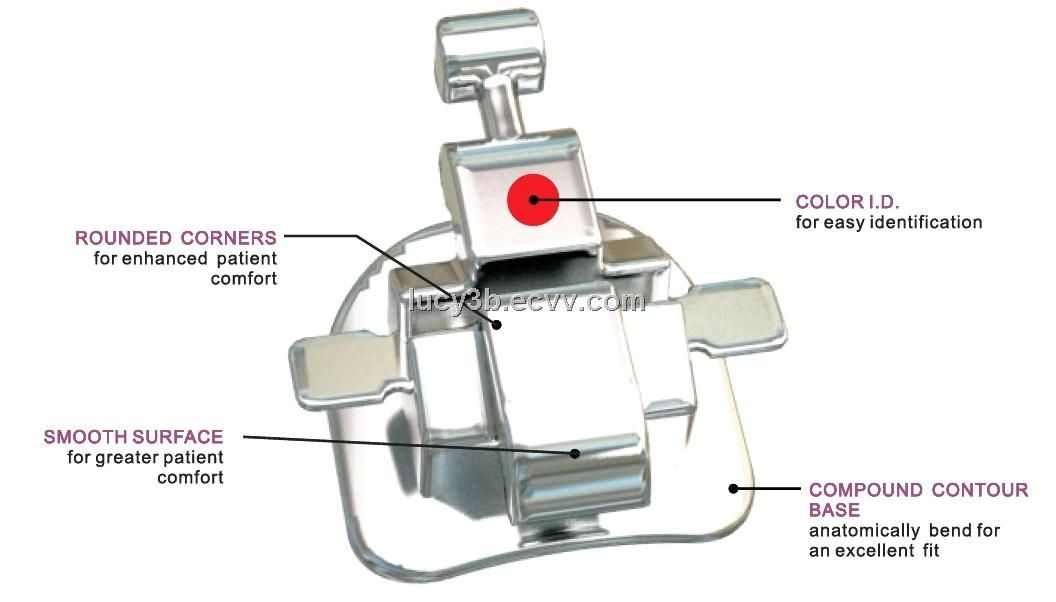Orthodontic Lingual System Bracket From China Manufacturer