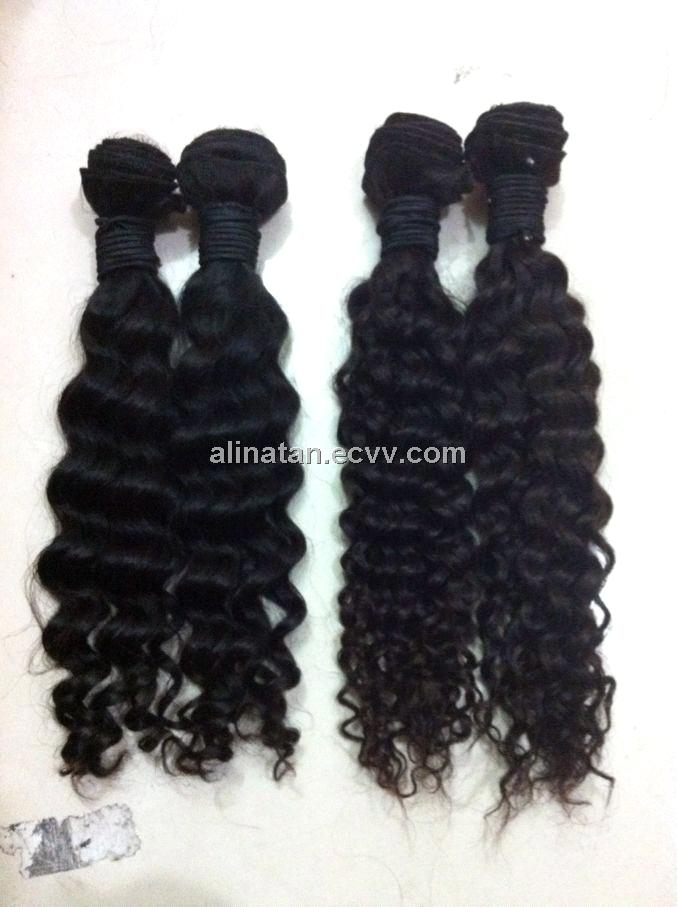 Hair no processed indian virgin remy human hair body no chemical