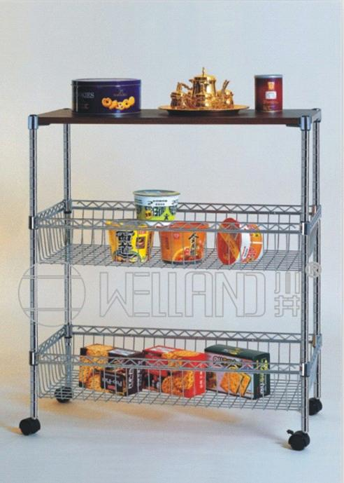 Very Best  Household Storage Rack > Adjustable Metal Steel Basket Kitchen Trolley 492 x 689 · 45 kB · jpeg