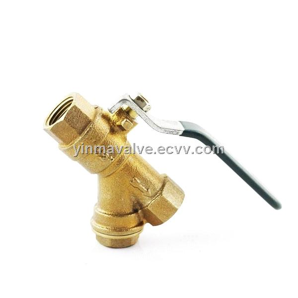 Bronze strainer ball valve purchasing souring agent