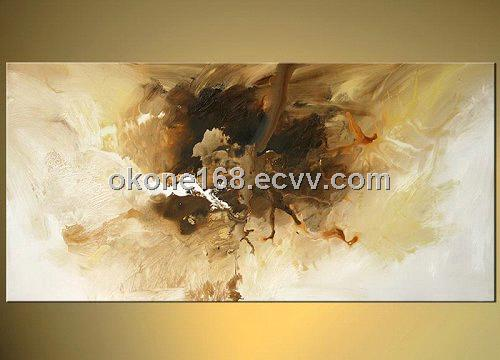 New arrival abstract oil painting on canvas (NA19) - China ...
