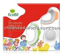 Tableware Gift Box (7 pcs) for Infants, Ecobe A808
