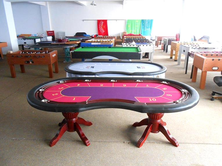 Baccarat Table Playing Card Table Poker Table Purchasing