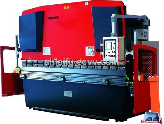 Sheet Bending Machine : Manual sheet metal bending machine hydraulic