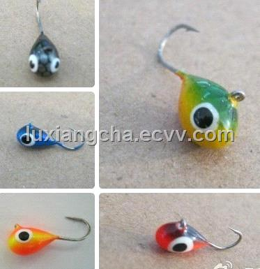 Tungsten jig for ice fishing purchasing souring agent for Ice fishing jig molds