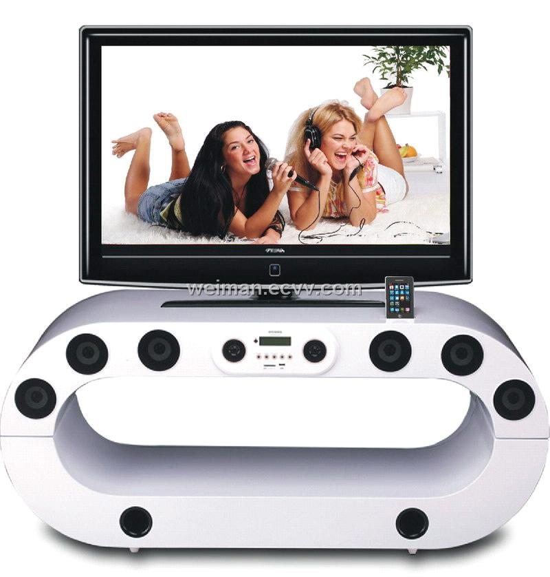 2012 2 1 ch docking amplifier tv 8805 purchasing for Meuble tv oceania