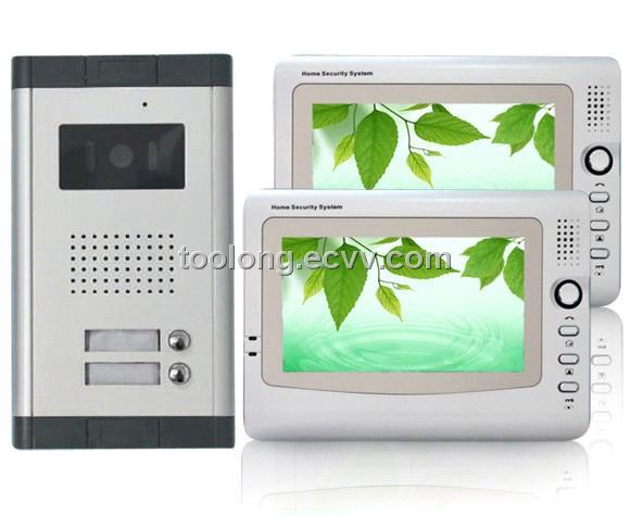 2 apartment video intercom door phone system purchasing