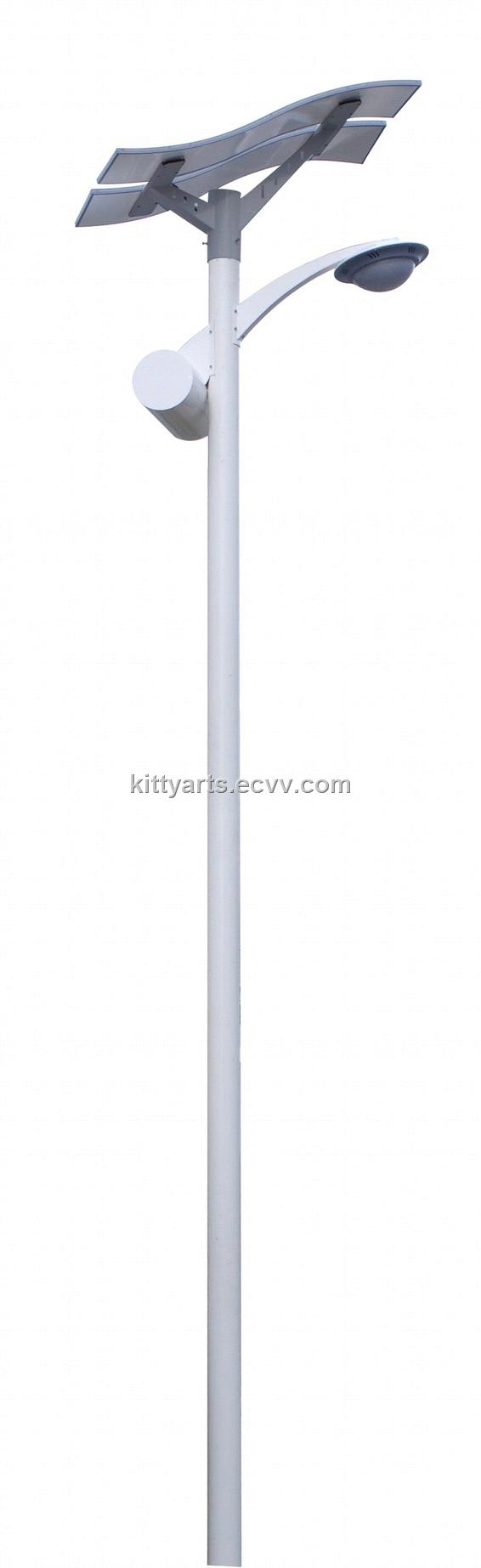 30W flexible solar street light