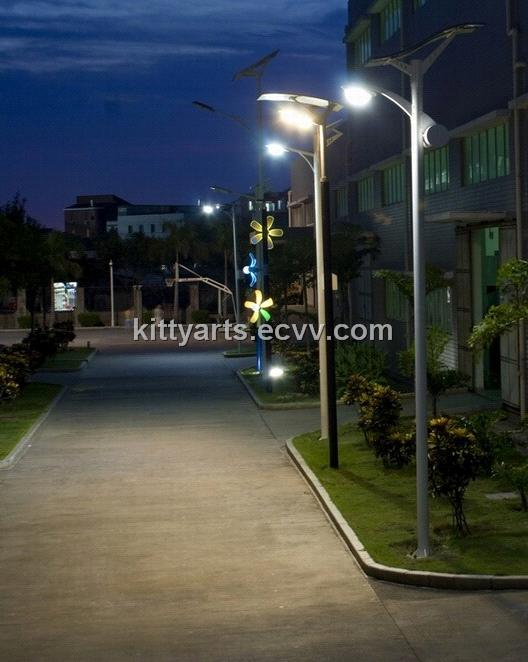 30W flexible solar street light3