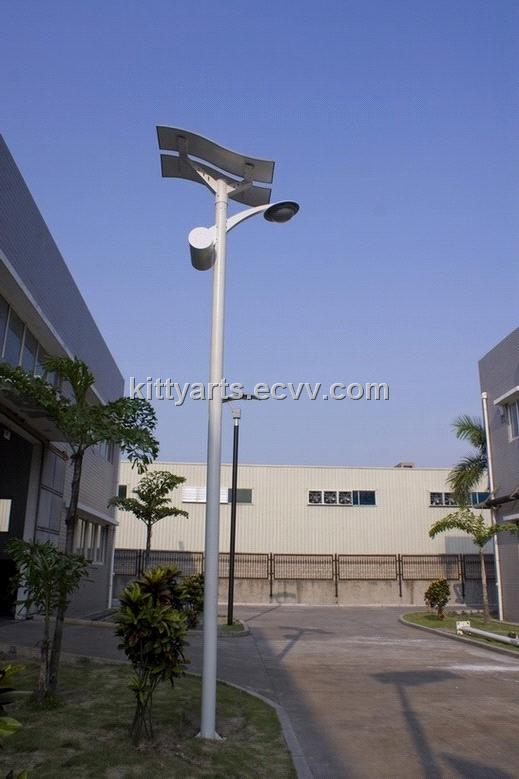 30W flexible solar street light2