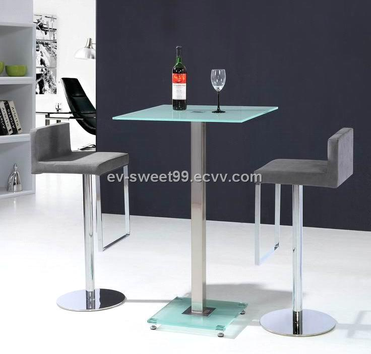 bar set Bar Table and bar chair SD 522 purchasing  : ChinaGlassTopSquareBarTableandbarchairSD52220122191722512 from www.ecvv.com size 736 x 703 jpeg 43kB