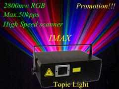 On Sale!!!3D Animation RGB Laser  show ,Event lighting (TPL-IMAX 2.8W)