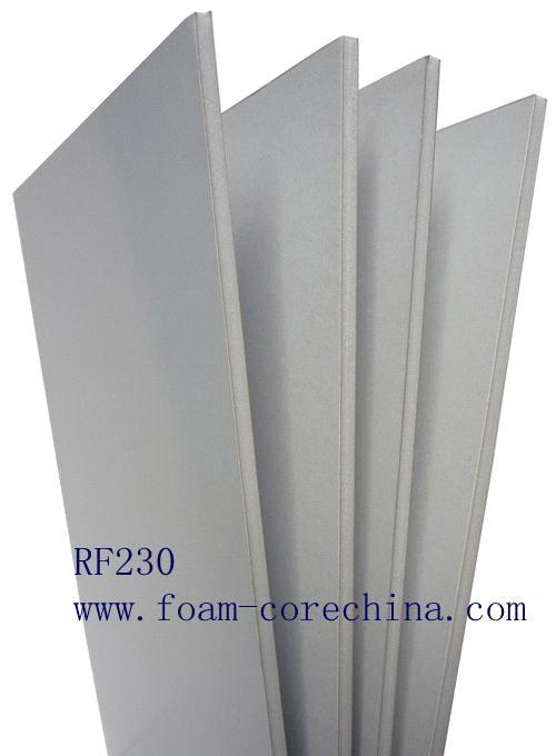 Poster board foam core