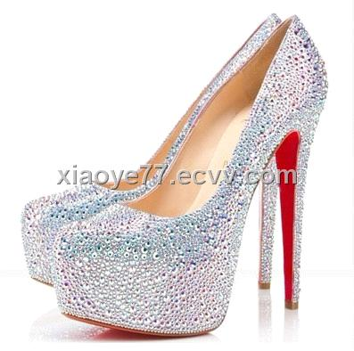 Mini Dress on 2012   China Red Sole Shoes Crystal Shoes Party Shoes Dress Shoes