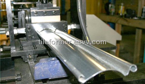 Rolling Shutter Slats Roll Forming Machine Foam Aluminum