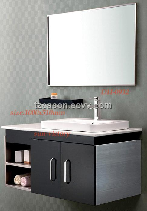Stainless steel bathroom vanity bathroom cabinets dh 0932 purchasing souring agent ecvv Stainless steel bathroom vanities