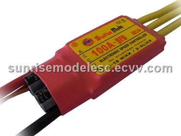Sunrise Model Pro series 100A SBEC Brushless ESC for RC Airplane