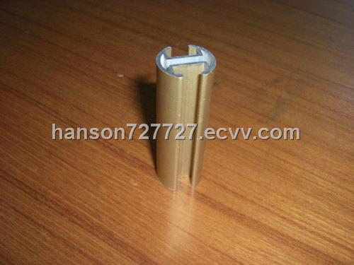 Extruded aluminum pipe