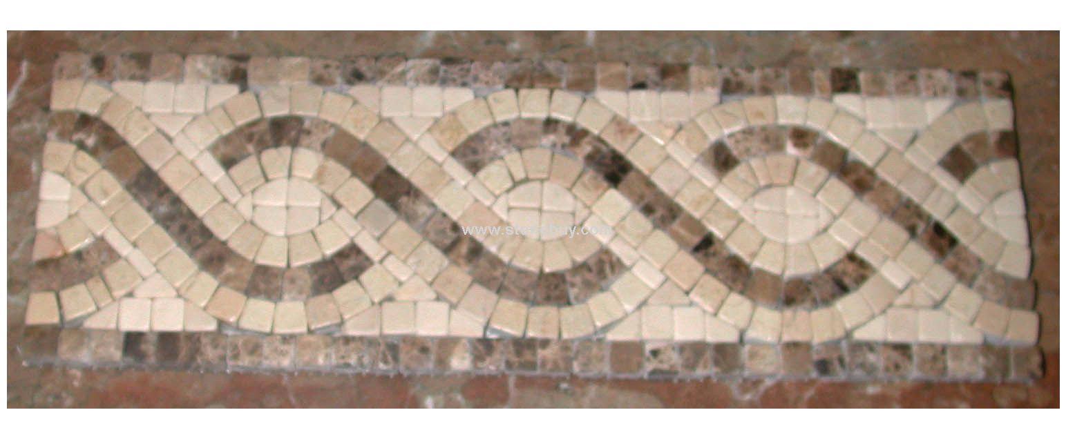 bathroom wall tile ceramic mosaic (FH007) - China bathroom wall tile ...