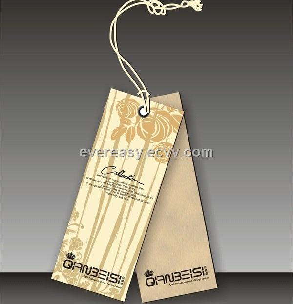 custom design paper clothing tag purchasing, souring agent | ECVV.com purchasing service platform