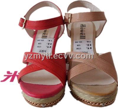 Ladies wedges shoes. Shoes