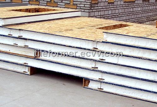 Foam Core Structural Insulated Panel Osb Xps Eps Osb