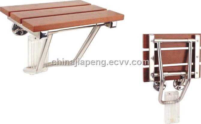 solid wood bathroom chair Model F 1 China bathroom chairfold