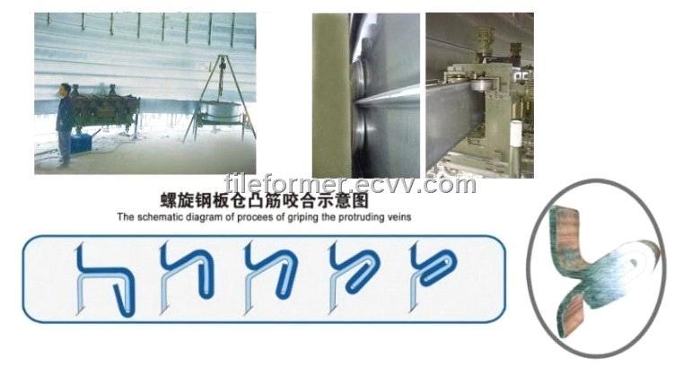 Spiral Tank Sewing Machine Steel Tank Sewing Machine Tank