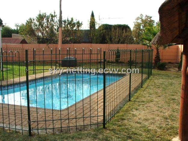 Steel swimming pool fence anping manufacturer purchasing
