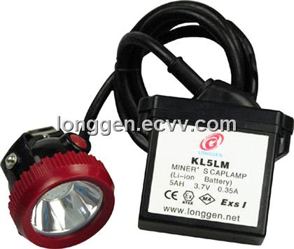 Miners Cap Lamp Kl5lm 5ah Li Ion Battery Led Miner S Cap