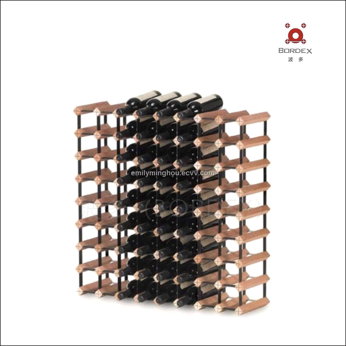 72 Bottles Storage Wine Bottle Holder Wine Bottle Rack