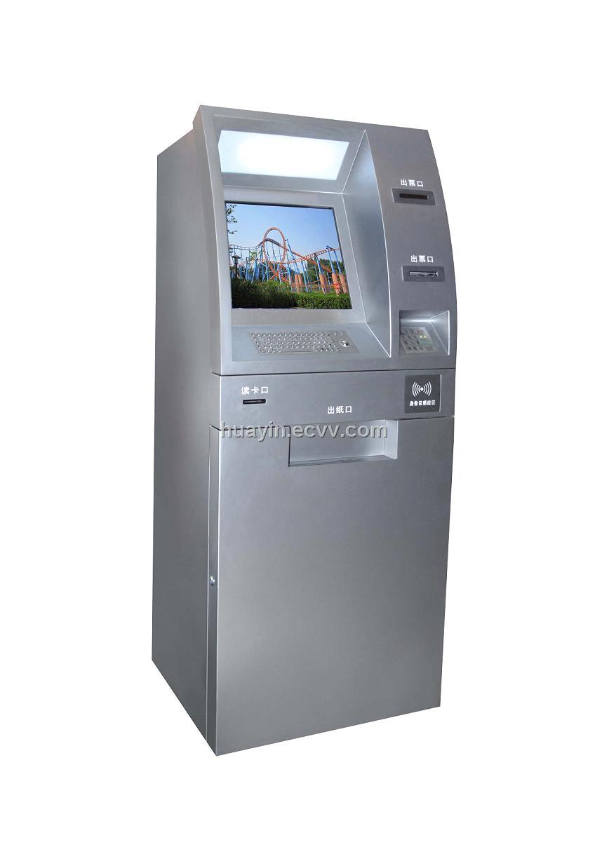Atm Money Dispenser Kiosk Machine Purchasing Souring