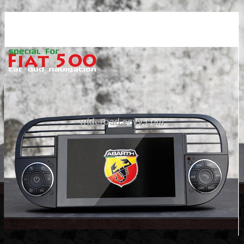 abarth fiat500 car dvd gps navigation purchasing souring. Black Bedroom Furniture Sets. Home Design Ideas