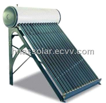 Low Pressurized Colour Steel Solar Water Heater