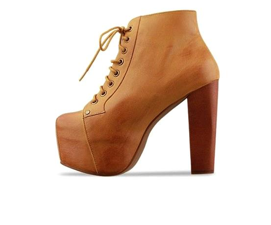 New style thick heel belt high heel short boots XD-YX456-1 brown PU
