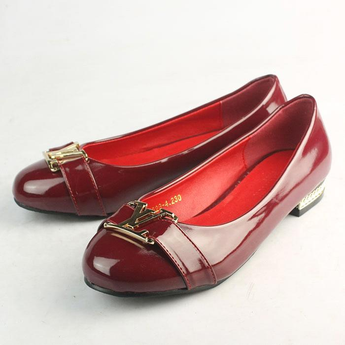 Leather shoes red office footwear classic dress shoes fashion high