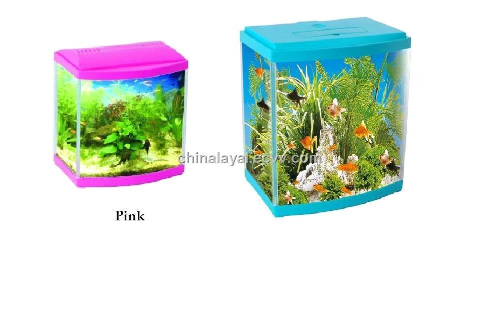 Small Glass Fish Aquarium (YG-17L) - China fish tank, LAYAL