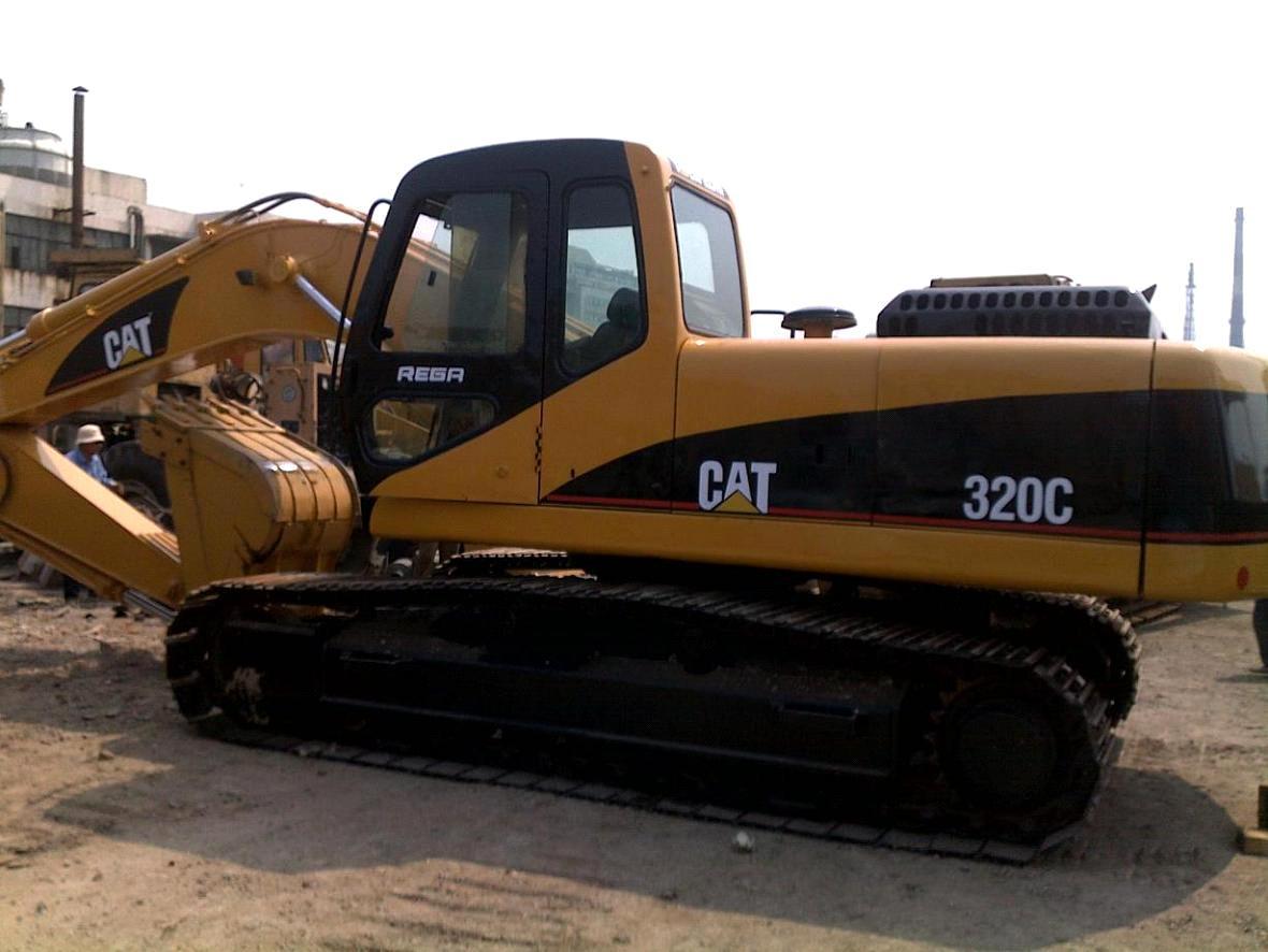 320 l excavator used engine: