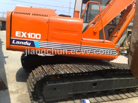 Used Hitachi 100-1 Crawler Excavator1