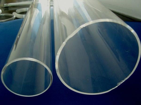 Large diameter clear quartz tube purchasing souring agent