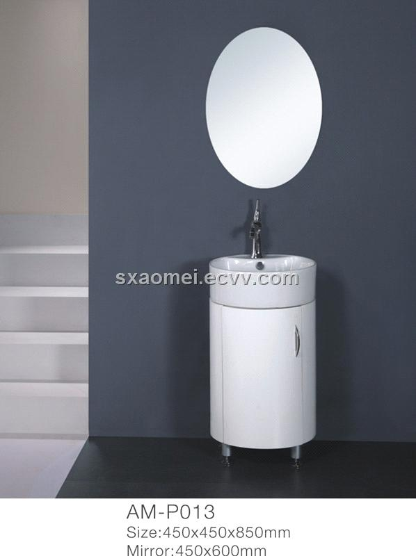 pvc round cabinet basin am p013 china pvc cabinet pvc bathroom