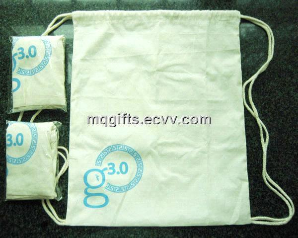 Promotional Wholesale Custom Small Cotton Drawstring Bag