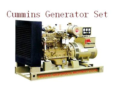 Cummins Generator Set/Power Generator