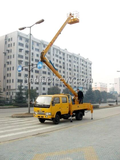 Dongfeng Truck Mounted Cherry Picker 16m1